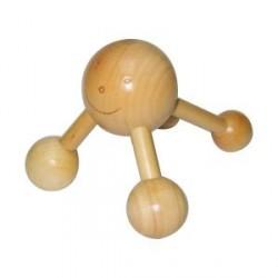 Masajeador mano 5 bolas 12X8,5X10 cm