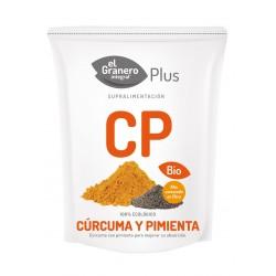 Cúrcuma y pimienta bio 200g el granero integral