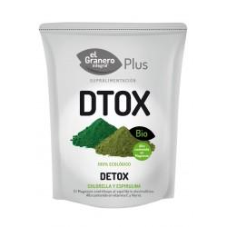 Detox ( chlorella y spirulina ) bio 200 g el granero integral