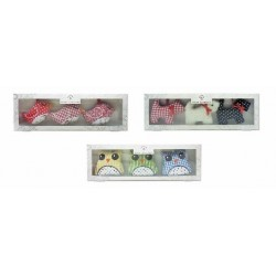 Set de 3 bolsitas perfumadas con esencia de lavanda