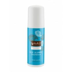 Desodorante con aloe, alumbre y calendula 75 ml naay botanicals