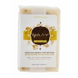 Jabón equilibrante antibacterial 100g naay botanicals