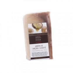 Jabón de argán y karite 100g Amapola bio cosmetics
