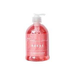 Jabón líquido de manos de rosas 500ml laboratorio sys