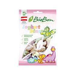 Caramelos de dinos de goma sabor yogur bio 80g biobon