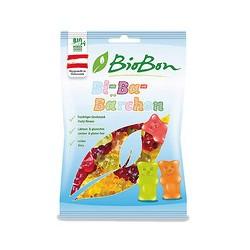 Caramelos de ositos de goma con zumo de frutas bio 100g biobon