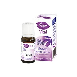 Aceite esencial de romero bio 12ml el granero integral