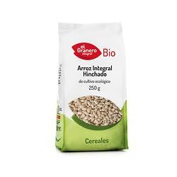 Arroz integral hinchado bio 250g El granero integral