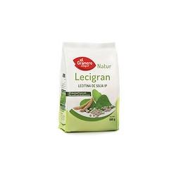 Lecigran lecitina de soja IP no GMO 500 g el granero integral