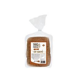 Pan de molde integral con centeno 400g Taho cereal