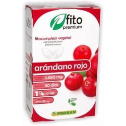 Arándano rojo 30 caps fitopremium pinisan