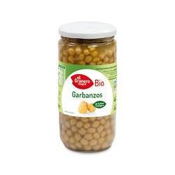 Garbanzos cocidos bio 660 g el granero integral