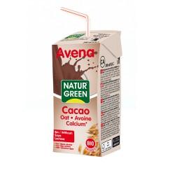 Bebida de avena con cacao enriquecida en calcio 100 ml naturgreen