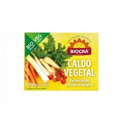 Cubitos caldo vegetal 6X10 g biográ