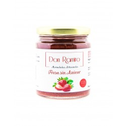 Mermelada de fresa sin azúcar 250 ml don ramiro