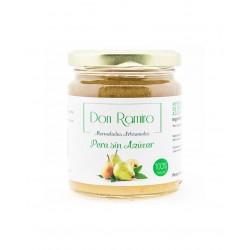 Mermelada de pera sin azucar 250 g don ramiro