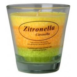 Vela perfumada de citronela antimosquitos