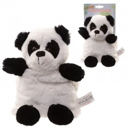 Muñeco térmico de semillas oso panda