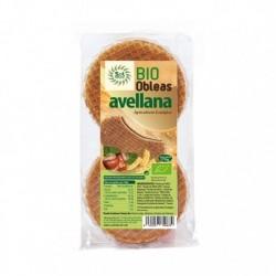 Obleas con avellanas bio 175 g sol natural