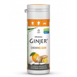 Chicle de jengibre y naranja 30 g original ginjer