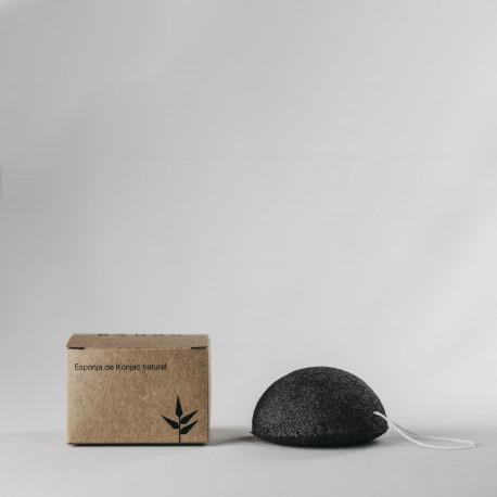Esponja de konjac carbon banbu