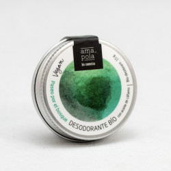 Desodorante sólido paseo por el bosque 15 g amapola bio cosmetics