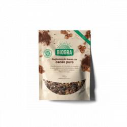 Crujiente de avena con cacao puro 325 g biográ