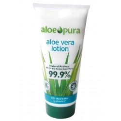 Loción de aloe vera puro 99,9% 200ml aloe pura