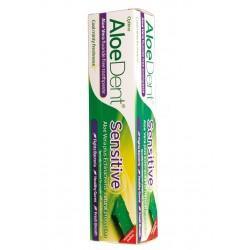 Dentifrico con aloe vera sensitive 100ml optima aloe dent