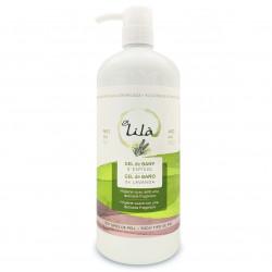 Gel de baño de lavanda 1l lila cosmetics