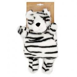 Peluche térmico de semillas tigre blanco