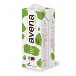 Bebida de avena fibra ecológica 1L soria natural