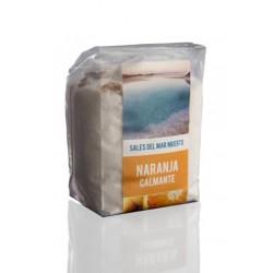 Sales del mar muerto de naranja 200g Amapola bio cosmetics