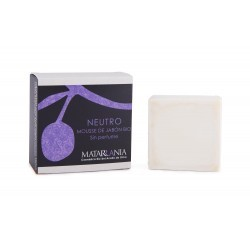 Mousse de jabon bio neutro y sin perfume  120 gr matarrania
