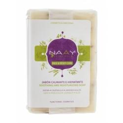 Jabón calmante hidratante 100g naay botanicals