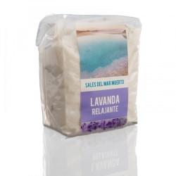 Sales del mar muerto de lavanda 200g Amapola bio cosmetics