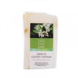 Jabon de azahar y naranja 100gr Amapola bio cosmetics