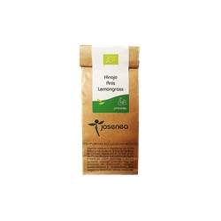 Infusión bio hinojo, anis y lemongrass 10 pirámides josenea bio