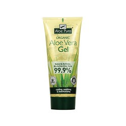 Gel puro de aloe vera 99,9% 200ml aloe pura