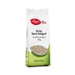 Arroz semi integral bio 1k el granero integral