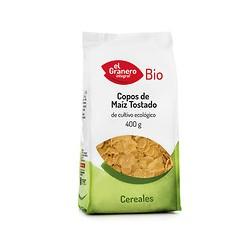 Copos de maiz tostado bio 400g el granero integral