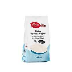 Harina de avena integral bio 1k El granero integral