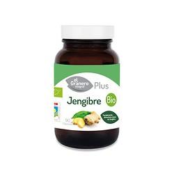 Jengibre bio 90 cap 500 mg el granero integral