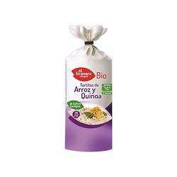 Tortitas de arroz y quinoa bio 120 g El granero integral