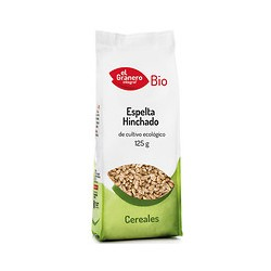 Trigo espelta hinchada bio 125 g El granero integral