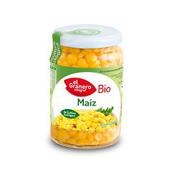 Maiz dulce cocido bio 369 g el granero integral