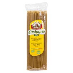Espaguetis integrales de trigo duro 500 g castagno