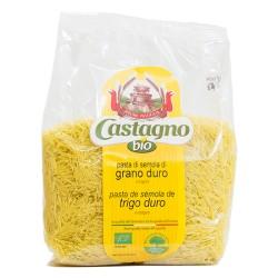 Fideos de trigo duro ecológicos 500 g castagno