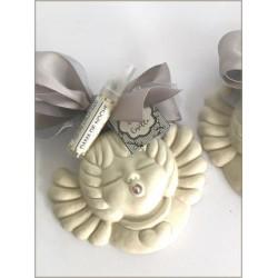 Angelito de cerámica perfumado con perfumador aromalia