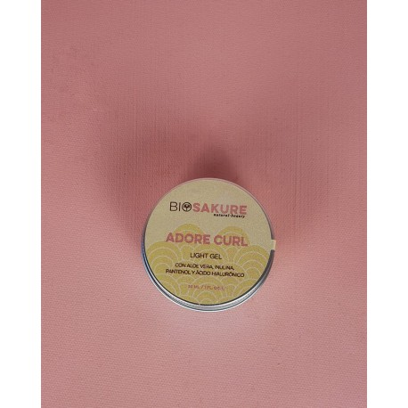 Adore curl gel para cabello ondulado 30 ml biosakure